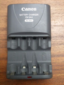 Canon Battery Charger CB-5AH