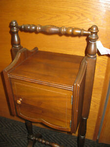 Smokers Stand -- FROM PAST TIMES Antiques & Coll - 1178 Albert Regina Regina Area image 2