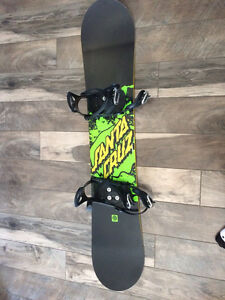 Snowboard with Bindings & Boots