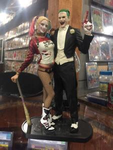 joker /harley suicide squad statue 12 inch $200.00