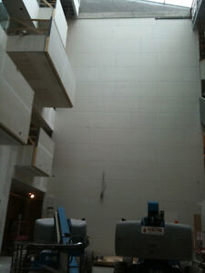 Drywall, steel frame, taping, insulation, T-bar ceiling Edmonton Edmonton Area image 4