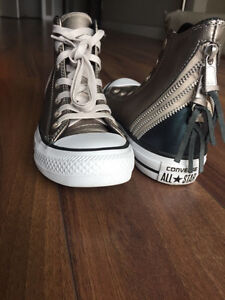 Converse All Star Tri Zip High Leather Runner