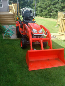 REDUCED PRICE! Kubota BX25D TLB for sale. Only 28 hrs!!