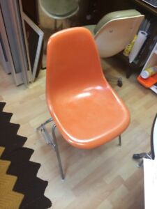 Authentic Eames Fiberglass Shell Chairs