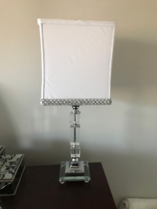 White Bedroom Lamp (2) -$60 each