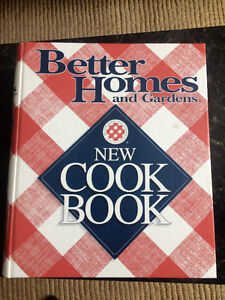Better Homes and Gardens hardcover cookbook