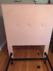 Twin Head Board Pink