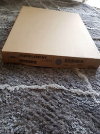 IKEA KOMPLEMENT Pull Out Trouser Hanger~Organiser Grey 50x35cm NEW