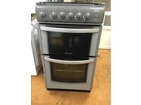 Hot point gas cooker in grey delivery available