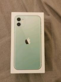 APPLE IPHONE 11 GREEN 64GB FACTORY UNLOCK