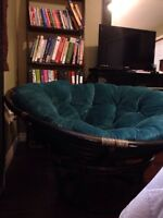 Moving sale papasan chair.