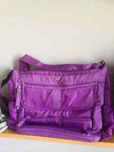 LUG handbag - Purple