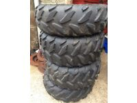 4 quad tyres in excellent condition £100