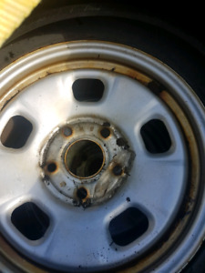 4 Dodge Ram Winter Rims and Tires $400 OBO