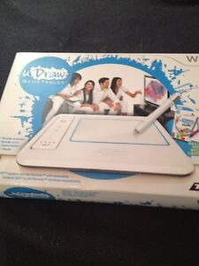 Wii game and tablet for wii