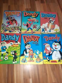 27 Annuals Books Beano Dandy Beezer Topper Sparky Dennis Desperate Dan