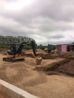 Mini excavating , post hole digging , mulching and more