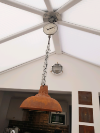 Industrial Rust Chain Light (Battery Operated)