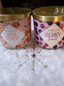 Charmed aroma candles
