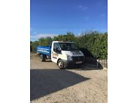 2013 ford transit 100t350 tipper. 6 speed 63 reg