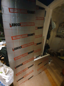 4 off cuts of Insulation board 50mm thick