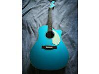 Fender Sonoran SCE Acoustic Guitar