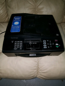 Printer with scanner and fax