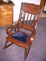 Authentic Bentwood Antique Rockingchair