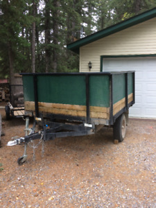 Heavy Duty 13' Utlilty Trailer