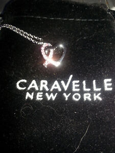 Caravelle New York Breast Cancer Necklace