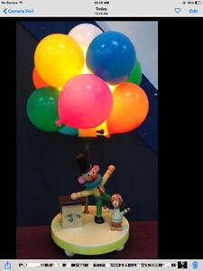 1950's Clown Balloon Lamp