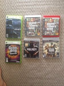 Video games ps3, 360.