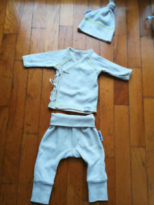 Ensemble newborn bambou bio