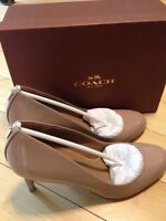 Coach Patent Leather pumps- Brand New