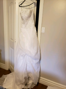 Wedding dress size 8/10