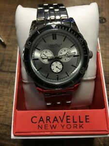 mens caravelle New York watch