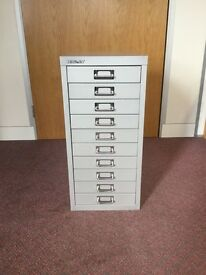 Bisley multi-drawer cabinet