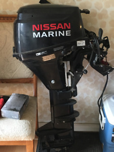 8 hp nissan marine outboard motor