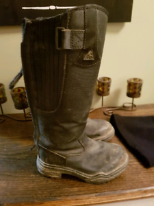 Kids mountain horse winter riding boots size 2