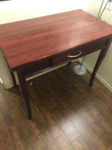 Moving Sale- Tables/Desk Cherry Wood
