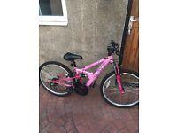 Nearly New Pink Kids Bike