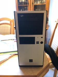 Tour ordinateur Amd double-coeur 3.20GHZ/4GB DDR2/120GB SSD