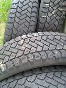 "Set of 4-195/65/15"" winter(not studded) tires,LOTS of tread"