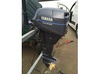 Yamaha 9.9hp 4 stroke outboard