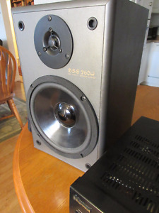 Large Bookshelf Stereo Speakers