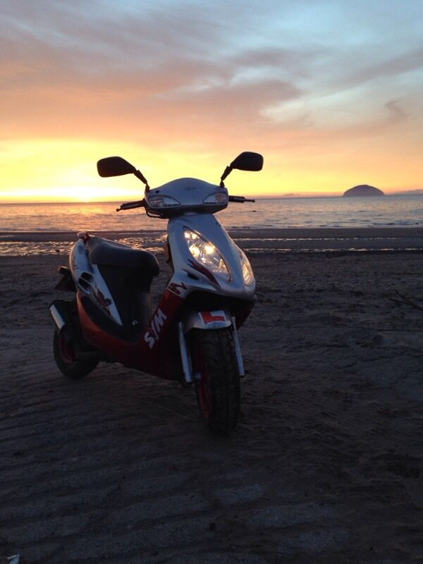 SYM Jet 50cc scooter 43mph derestricted | in Girvan, South