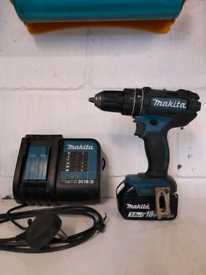 Makita 18v combi drill battery charger