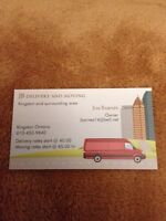 JB moving and delivery starting at $40