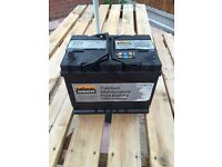 Car battery 072 550amps very good