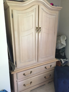 Armoire and Side table